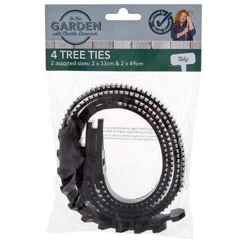 Charlie Dimmock Tree Ties 4 Pack