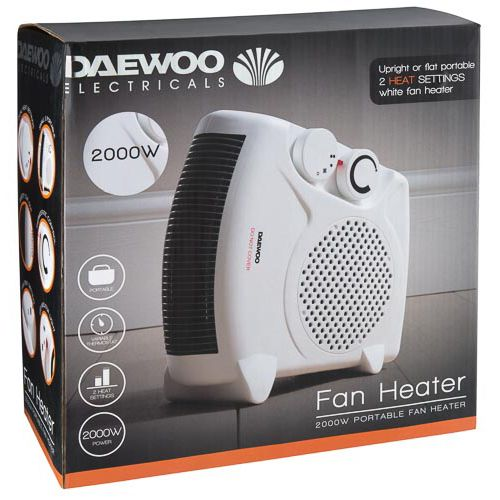 DAEWOO FAN HEATER 2000W