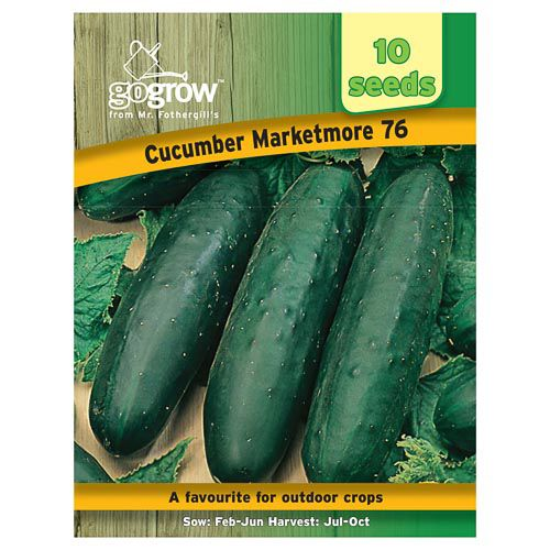 Mr Fothergills Cucumber Marketmore 76