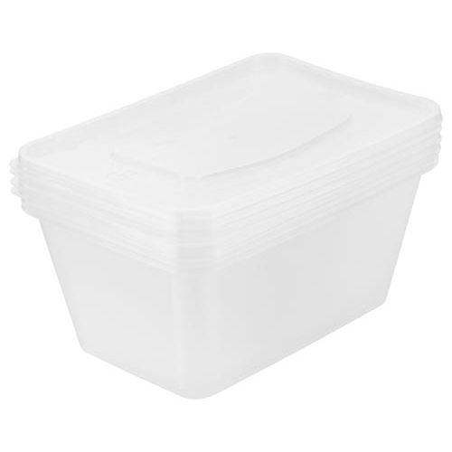 Microwave Containers 1l 4 Pack