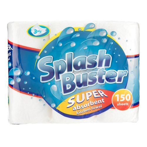 Splash Buster Kitchen Roll 3 Pack