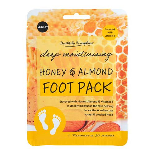 Honey and Almond Footpack