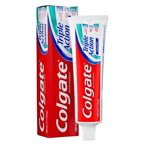 Colgate Triple Action Mint Toothpaste 100ml