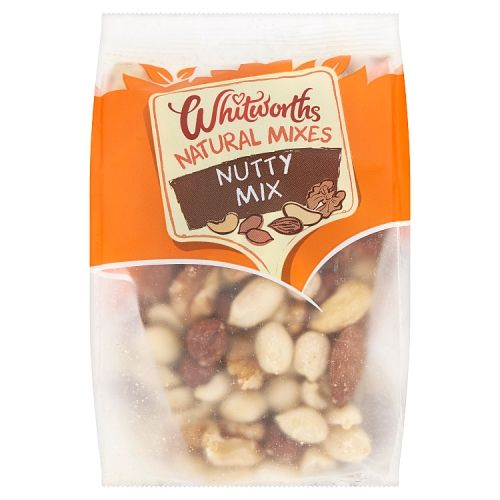 Whitworths Natural Nutty Mix 130g