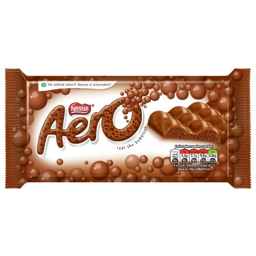 Aero Milk Chocolate Bar 105g