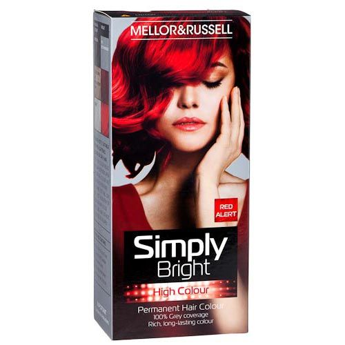 Mellor & Russell Simply Bright Hair Colour Red