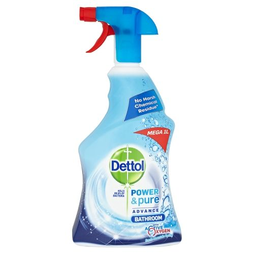 DETTOL BATHROOM CLEANER SPRAY POWER & PURE 1 LITRE