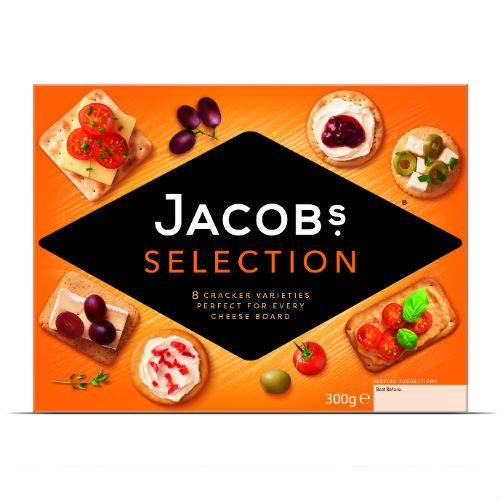 300G JACOBS BISCUIT FOR CHEESE