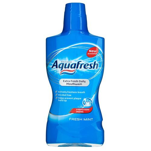 Aquafresh Mouthwash 500ml