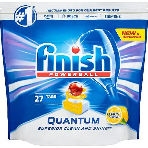 FINISH POWERBALL QUANTUM LEMON 27 TABLETS