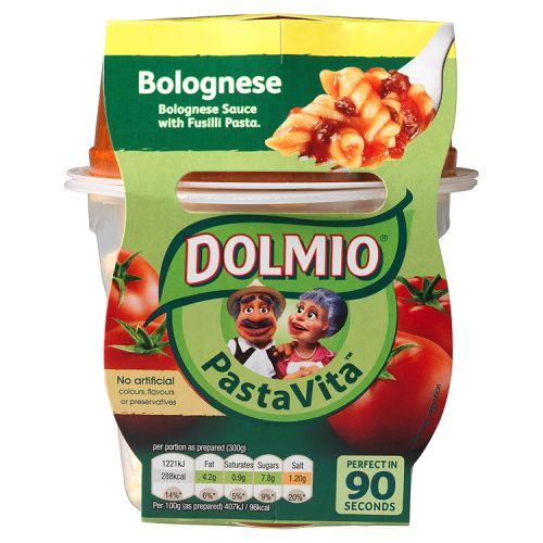 DOLMIO PASTA VITA BOLOGNESE READY MEAL