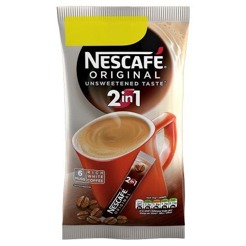 Nescafe Original 2 In 1 6 Pack