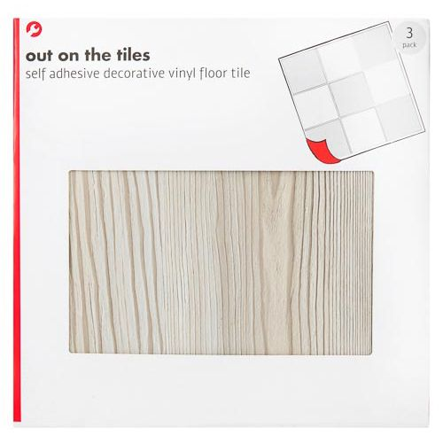 Grey Wood Tiles 3 Pack