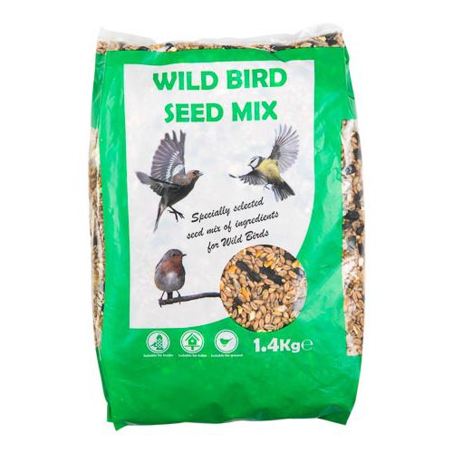 Wild Bird Seed Mix 1.4kg