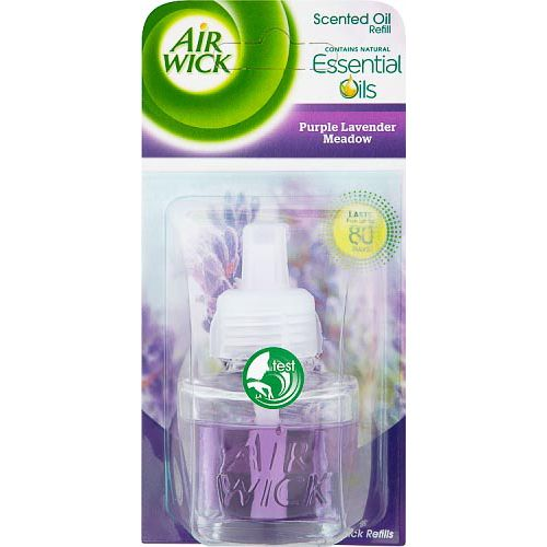 AIR WICK SCENTED OIL REFILL PURPLE LAVENDER 17ML