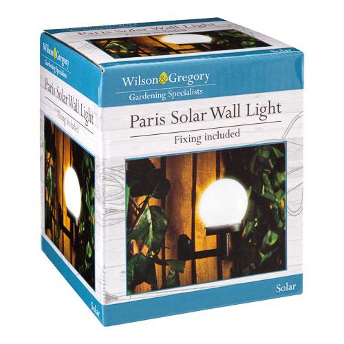 PARIS SOLAR WALL LIGHT