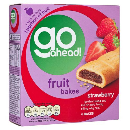GO AHEAD STRAWBERRY BAKES 6 PACK