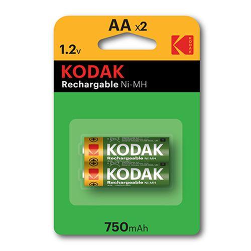 KODAK NI-MH RECHARGEABLE AA X 2 PACK