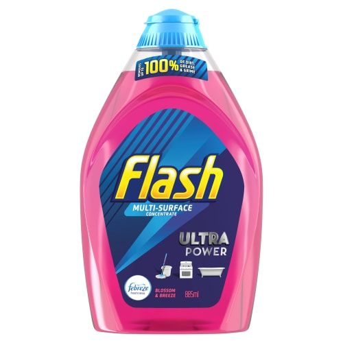 Flash Multi Surface Concentrated Cleaner 885ml