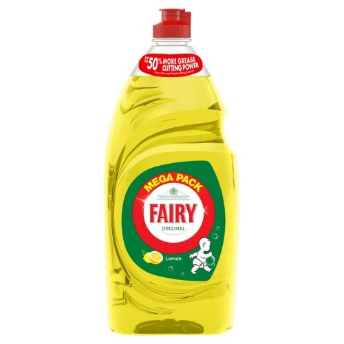Fairy Original Washing Up Liquid Lemon 1015ml