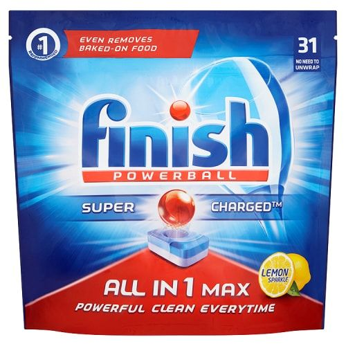 FINISH POWERBALL ALL IN 1 LEMON SPARKLE 31 PACK