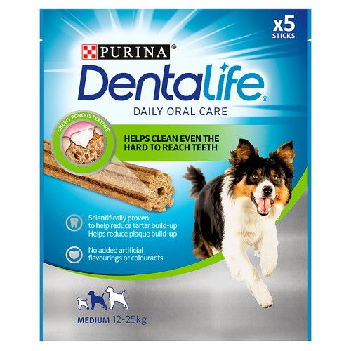 Dentalife Adult Medium Dog Dental Chew 5x23g