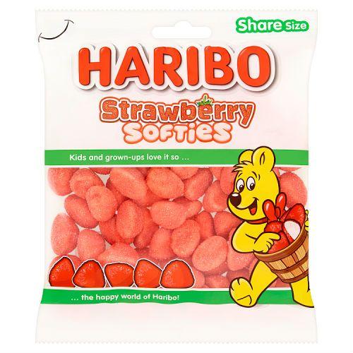 HARIBO STRAWBERRY SOFTIES 160G