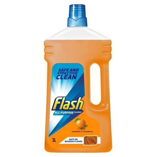 FLASH DELICATE WOOD MULTI SURFACE CLEANER 1L