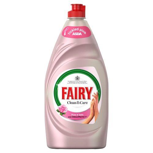 FAIRY LIQUID ROSE & SATIN 820ML