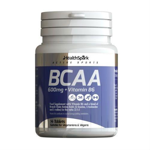 BCAA 600MG + B6 14 TABLETS