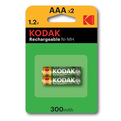 KODAK NI-MH RECHARGEABLE AAA X 2 PACK