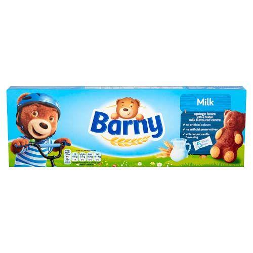 Barni Sponge Bear Milk 150g