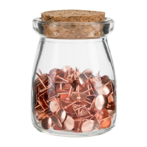Pastels Rose Gold Acc Jars