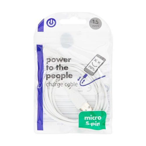 Micro 5-Pin Cable 1.5m