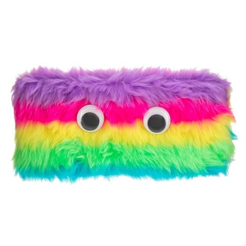 FLUFFY EYES PENCIL CASE