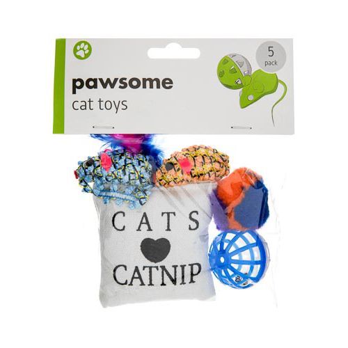 CAT PLAY TOY SET