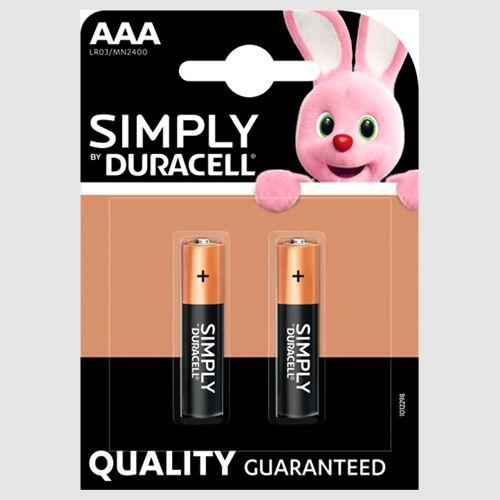Duracell Aaa Alkaline Batteries 2pk