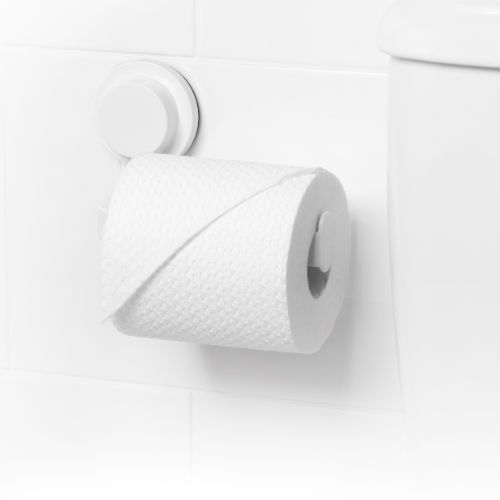 TOILET ROLL SUCTION HOLDER