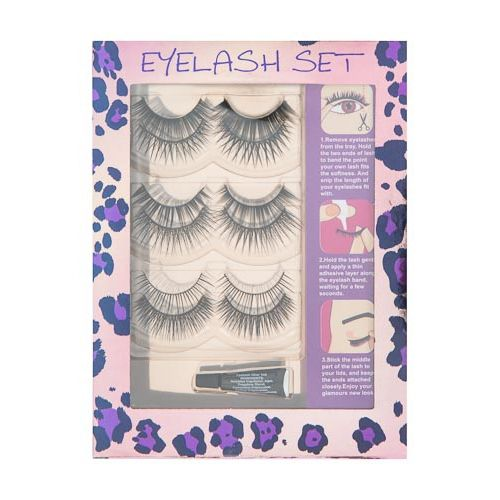 MEGA EYELASH SET WITH GLUE