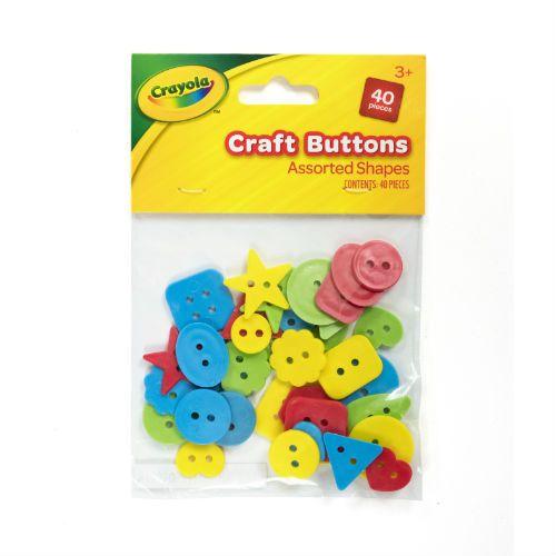 Crayola Buttons 40pk