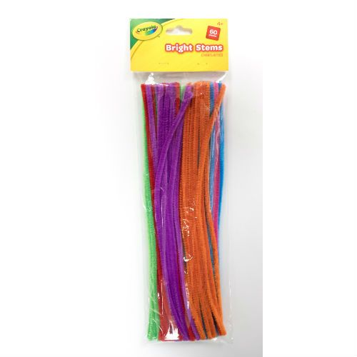 Crayola Bright Pipecleaner 60pk