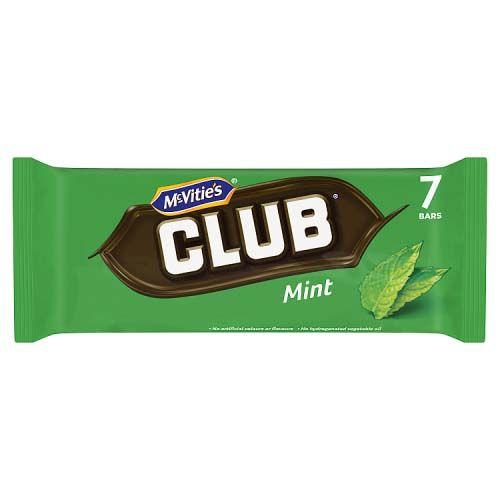MCVITIES CLUB MINT 7 PACK