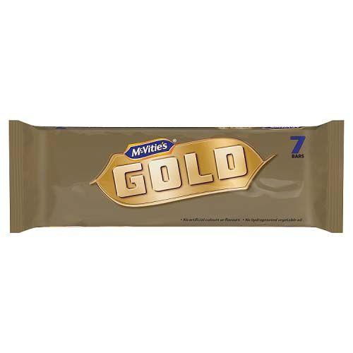 McVities Gold Bar 7 Pack