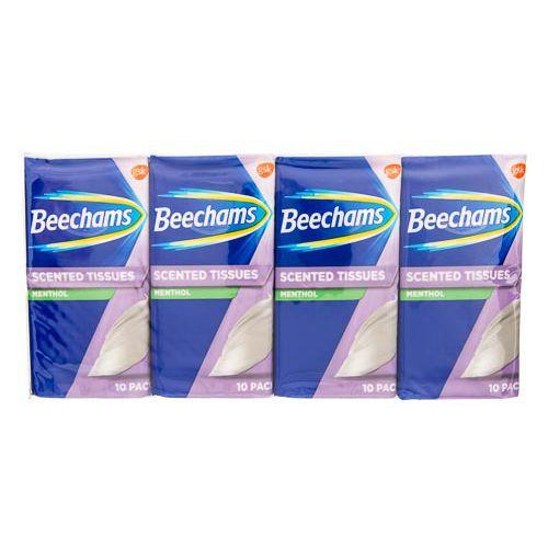 Beechams Scented Pocket Tissues 8x10pk