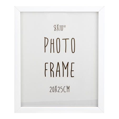 "Photo Frame 8x10"" White"