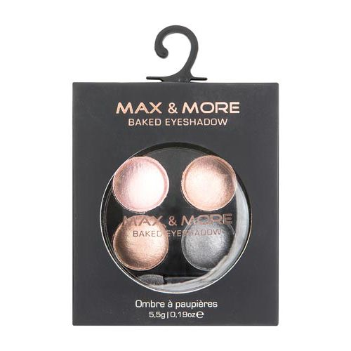 MAX & MORE BAKED EYESHADOW
