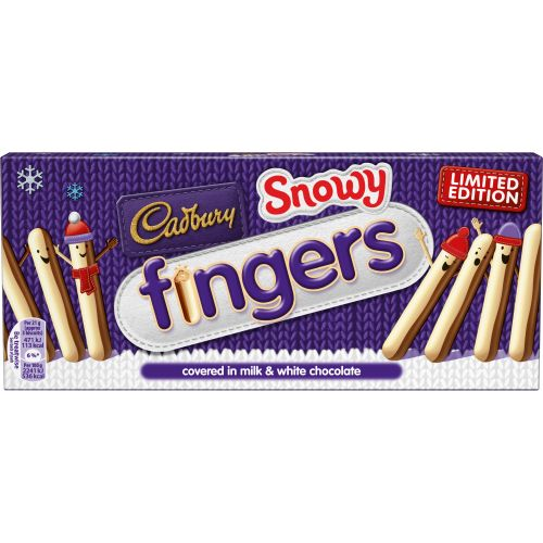 Cadbury Limited Edition Snowy Fingers 115g