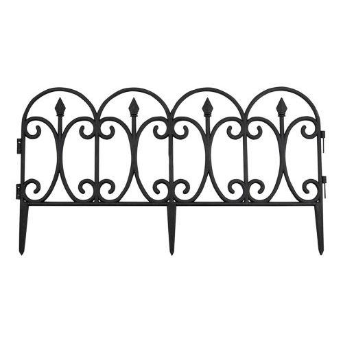Black Garden Fence