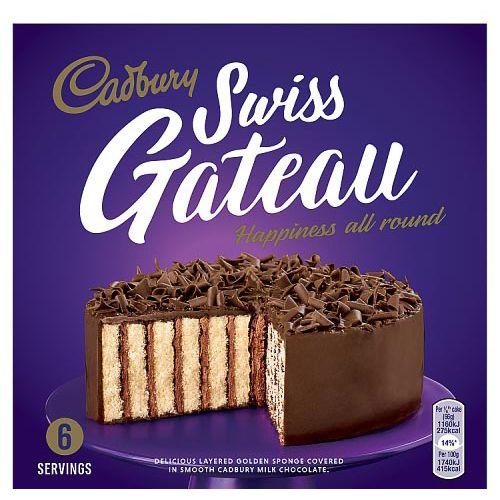 Cadbury Swiss Gateau Cake