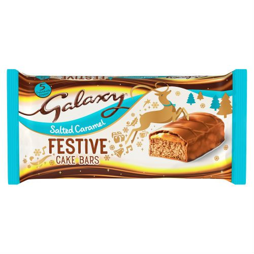 Galaxy Salted Caramel Cake Bar 5 Pack